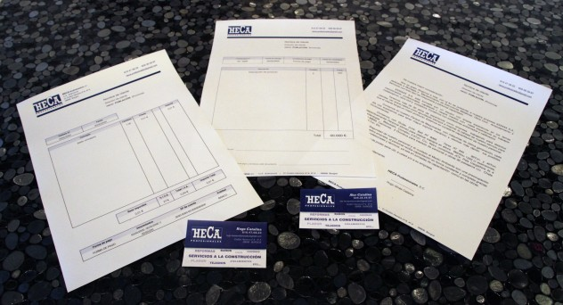 RcreaT - Impresos y Tarjetas corporativas - HECA